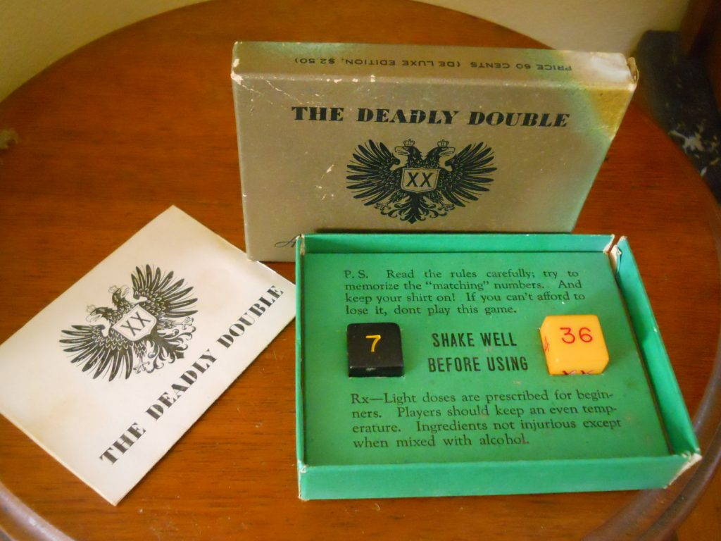 Deadly Double dice game